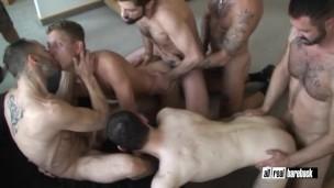 hotel room orgy